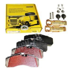 Kit plaquettes de freins SB7 référence TEXTAR 2927801