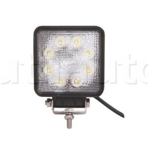 Phare de travail carré 8 leds - 10/30 Volts ROBERT LYE 399046