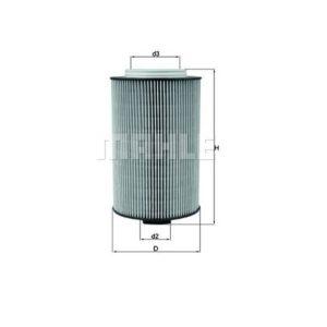 Filtre à huile pour MAN TGS/TGX - KNECHT OX 1028D