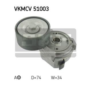 Galet tendeur SKF Actros/Atego/Axor - SKF VKMCV 51003