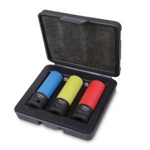 3 Douilles gainées pour alliage léger 720LC/C3