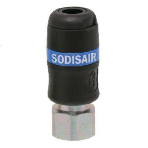 RACCORD RAPIDE SECURITE 1/2F DIAM.6 VRAC sodise