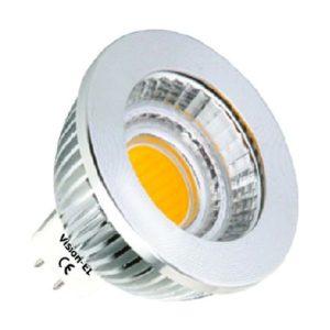 AMPOULE LED COB 5W GU5.3 COB 4000°K AVEC VARIATEUR 02031
