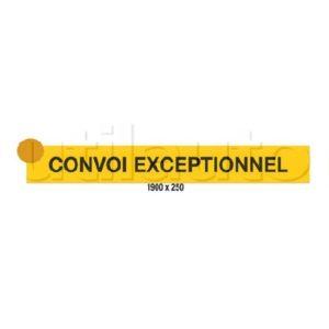 ADHÉSIF CONVOI EXCEPTIONNEL 1900 X 250 373133