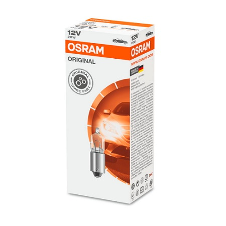 Lampes de signalisation 24V 70W P14,5S avec culot métallique OSRAM 64115
