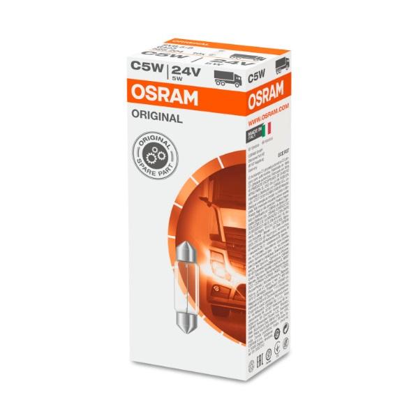 Lampes navette 24V 5W SV8.5-8 OSRAM 6423