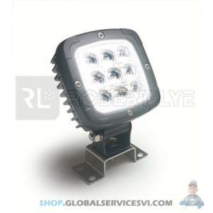 Phare de travail Carré 9 LEDs type CREE - ROBERT LYE 393200