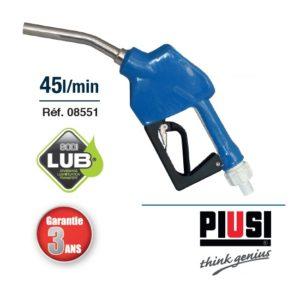 PISTOLET AUTOMATIQUE PVC BEC INOX AD BLUE 20-50L/MN SODISE 08551