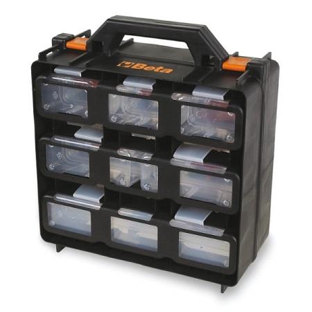Valise avec 12 bacs de rangement amovibles BETA 2080/V12