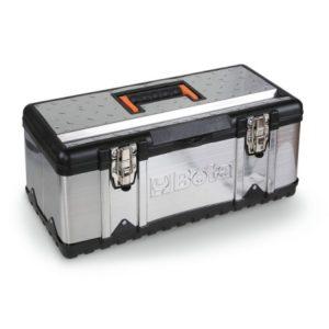 Boite a outils en acier inoxydable et plastique BETA CP17, CP17L