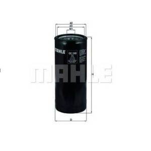 Filtre HUILE MAHLE OC 246