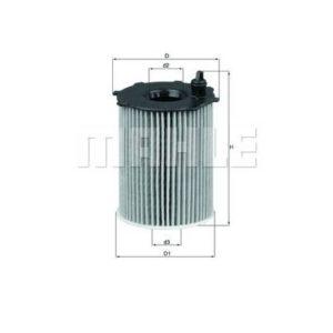 Filtre HUILE VL PEUGEOT MAHLE OX 171/2D