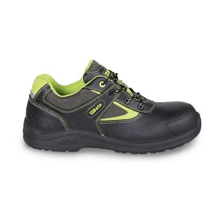 Chaussure basse en cuir pigmenté hydrofuge BETA 7220PEK