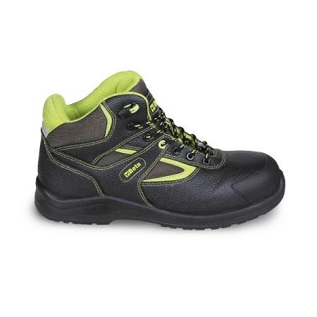Chaussure montante en cuir pigmenté hydrofuge BETA 7221PEK