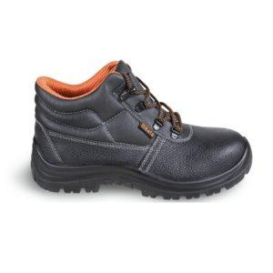 Chaussure montante en cuir pigmenté hydrofuge BETA 7243CK
