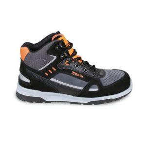 Chaussure montante en croute de velours BETA 7318AN