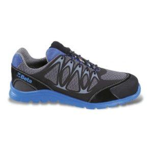 Chaussure FIT PRO NET basse en tissu mesh bleu BETA 7340B