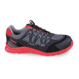 Chaussure FIT PRO NET basse en tissu mesh rouge BETA 7340R