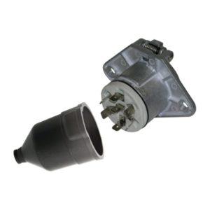 Socle de prise 7P/24V - ISO 3731 - Type S ERICH JAEGER 111129