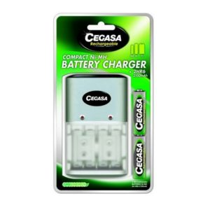 CHARGEUR COMPACT+ 2 ACCUS LR6- 2100-A4 SODISE 02580