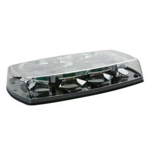 Mini rampe lumineuse 8 Leds blanc 1 point - 12/24V