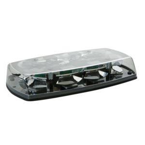 Mini rampe lumineuse 8 Leds blanc 2 points - 12/24V