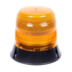 Gyrophare LED serie 400 flash 1 point Orange R65 - 12/24V