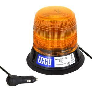 Gyrophare LED serie 400 flash magnetic Orange R65 - 12/24V
