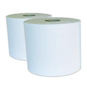 2 Bobines 1000 FTS 30x23 cm ouate blanc recyclé G191LWZ