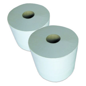 2 Bobines 1000 FTS 30x23,3 cm pure ouate blanc G905LSM
