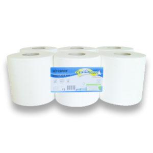 Pack de 6 Essuie-mains Maxi - 100% pure ouate H713POT