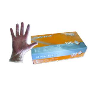 1000 Gants vinyle non poudrés transparents - Grade A-AQL 1.5 Q301Z