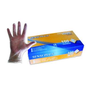 1000 Gants vinyle poudrés transparents - Grade A-AQL 1.5 Q311Z