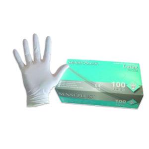 1000 Gants nitrile non poudrés blancs - Grade A-AQL 1.5 Q316Z