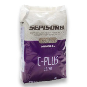 Sac 20 Kg  Absorbant minéral calcisol - Jusqu'a 150 % d'absorption R424A