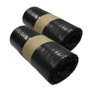 8 rouleaux de 25 Sacs poubelle noirs 100 litres T100BNR