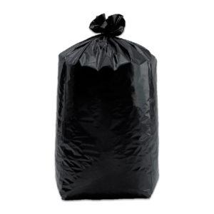 5 rouleaux de 20 Sacs poubelle noirs 150 litres T150BNR