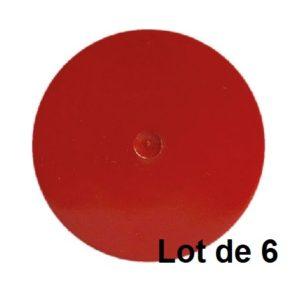 AEROSOL 400ML TEINTE AGRICOLE ROUGE CASE 03808.06 LOT DE 6