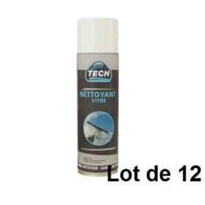 AEROSOL 500ML NETTOYANT VITRE 03844.12 LOT DE 12