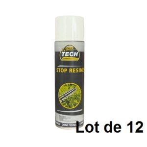AEROSOL 500ML STOP RESINE 03848.12 LOT DE 12
