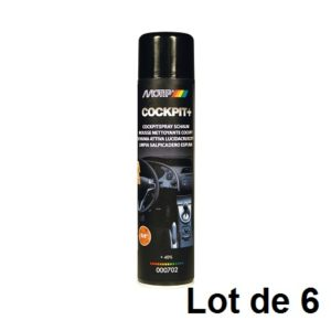AEROSOL MOUSSE TABLEAU DE BORD 600ML 03902.06 LOT DE 6