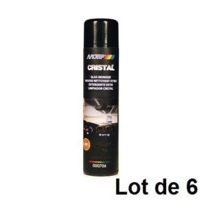 AEROSOL MOUSSE NETTOYANT VITRES 600ML 03910.06 LOT DE 6