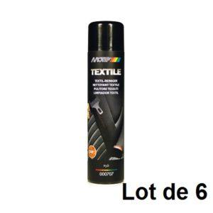 AEROSOL NETTOYANT TEXTILES 600ML 03912.06 LOT DE 6