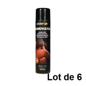 AEROSOL RENOVATEUR CUIR 600ML 03914.06 LOT DE 6