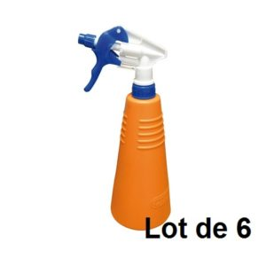 LOT 6X18768 PULVERISATEUR INDUSTRIE 750 ML ORANGE