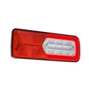LC12 LED - Feu arrière LED GLOWING Droit 24V, triangle - VIGNAL 161290