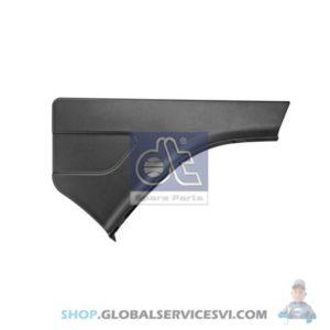 Revêtement d'aile, arrière, droite - DT SPARE PARTS 1.22609