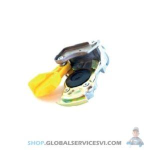 Tête d'accouplement jaune Semi-remorque avec filtre - HALDEX 334085111