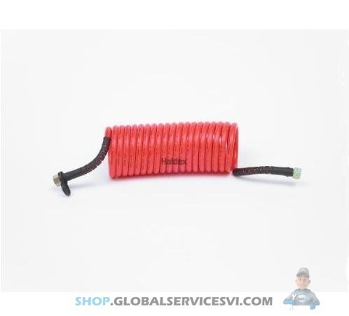 Spiralé flexible rouge - Flexible pneumatique spirale rouge - HALDEX AC80002R