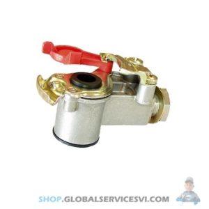 Tête d'accouplement rouge Semi-remorque avec filtre - KNORR K162828N00